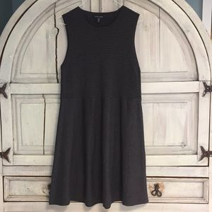 Eileen Fisher Washable Wool Crepe Sleeveless Dress